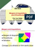DBS Mergers