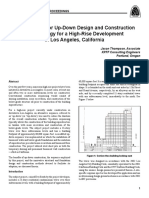 A case study up-down design and construction methodology for a high rise development in los angeles california.pdf