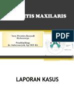 Sinusitis Maxilaris Ppt Arsy