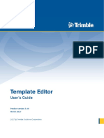 Template Editor User Guide