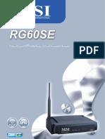 RG60SE User Guide