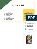 2017 curriculum vitae