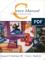 C_ a Reference Manual - Harbison