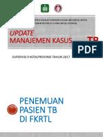 Update Manajemen Kasus TB-DOTS