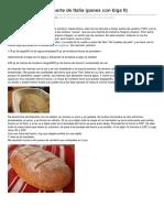 Pan de Centeno Del Norte de Italia Panes Con BigaII