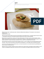 Pan de Pitasemiintegral