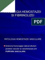 2.Patologia Hemostazei Vasculare