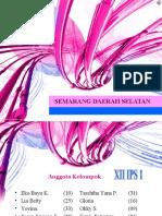 Semarang daerah selatan