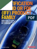 ''IFF Family Brochure