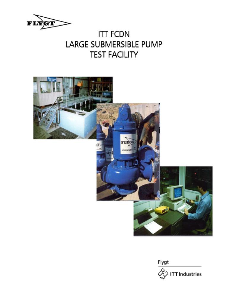315280banco De Pruebas Flygting Flow Measurement Pump