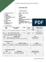 Form Cv Krakatau Posco