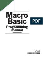 Macro Basic Programming Manual -v1