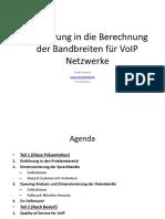 Verkehrstheorie Und Berechnungen6-1