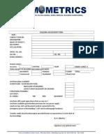 Building Assessment Form 2016