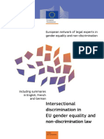 FREDMAN Intersectionality Report