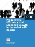 (Contributions to Economics) J. -D. Lee, A. Heshmati (Auth.), Prof. Jeong-Dong Lee, Prof. Almas Heshmati (Eds.)-Productivity, Efficiency, And Economic Growth in the Asia-Pacific Region-Physica-Verlag