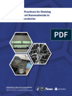 General Safe Practices for Working With Engineered Nanomaterials (CDC2012)