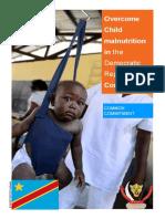 Overcome Child malnutrition in the Democratic Republic of Congo
