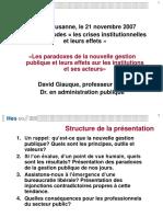 Apresentação David Giauque Buracracia Liberal