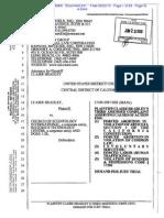 231 CLAIRE HEADLEY V. CSI & RTC Plaintiff's 3rd Amended Complaint