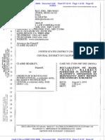 240 CLAIRE HEADLEY V. CSI & RTC 2 Plaintiff's Declaration - Rathbun
