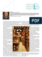 Librería Rafael Solaz. Artículo de Valencia Cultural Projects
