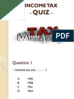 Income Tax Quiz