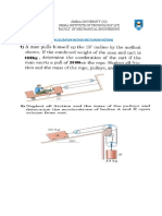 Exercise on Kinetics of Particle
