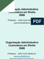 ISBB Organização Administrativa 2012 2013