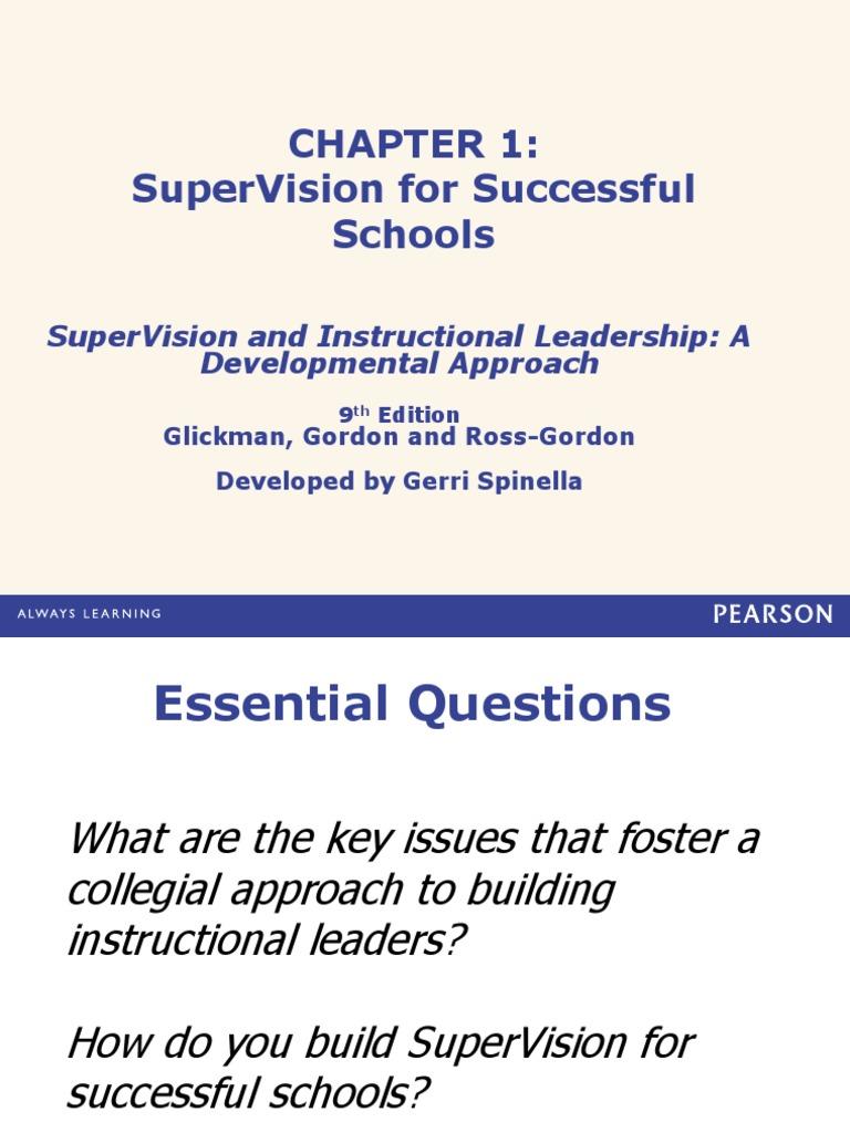 013285242xpp Ch 1 Educational Psychology Leadership Mentoring