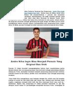 Andre Silva Ingin Bisa Menjadi Pemain Yang Original Dan Unik