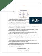 2.05 Ripple Factor of Capacitor Filter