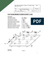 Flat Slab Desig Bs8110-Part1-1997