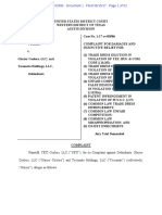 Yeti Coolers v. Glacier - Complaint