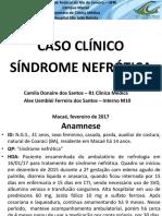 Caso clínico de Síndrome Nefrótica.pptx