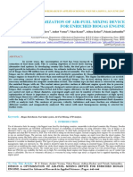 Iaetsd-jaras-Design & Optimization of Air-fuel Mixing Device