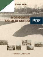 Surdulesti Arges Monografie