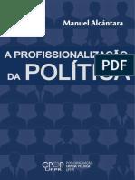 ALCANTARA - A Profissionalização Da Política