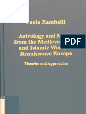 Variorum Collected Studies Series) Paola Zambelli-Astrology and ...