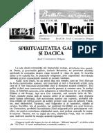 Nt68_mai1980 Spiritualitatea Gallica Si Dacica - Fondazione Europea Dragan