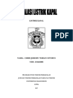 Instalasi Listrik Kapal by Chris j. v. Sitorus