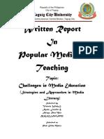 Written Report g 5