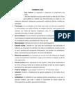 Terminología y Vademecu 1