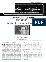 Oct 77 -l'Eurocommunisme Est Mort- - Fondazione Europea Dragan