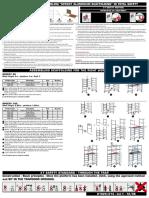 Zarges UK Ltd Speedy 80 Instruction Manual