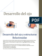 Desarrollo Del Ojo- EMBRIOLOGIA