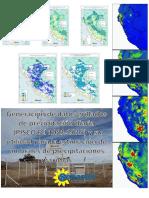 Estimación de Umbrales de Precipitación Máxima a Nivel Nacional