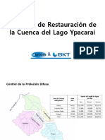 3 Presentación Restauración Del Lago Ypacarai