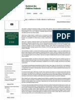 Vinicius O Estado, A Defesa e a União_ Debate e Indiferença