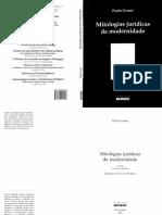 3.a e 4.b GROSSI, Paolo. Mitologias juridicas da modernidade.pdf